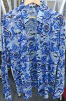 Versace Collection Hemd/shirt, Größe/size 43, mehrfarbig/multi-color