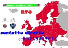4 CD + 1 CD SW8.31 EUROPA 2017 Navigatore RT4-5 Lancia Peugeot Citroen 2017