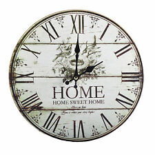 Ø29 cm Horloge Murale Salle de séjour Horloge de cuisine Roehmische Chiffres