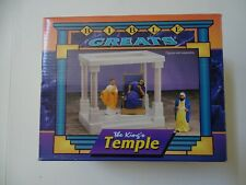 NEW KING'S TEMPLE Biblical Action Figure Collection Bible Greats Christian Toy