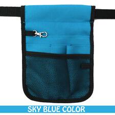 Nurse Vet  Physio Teacher Medical Professions Waist Belt Pouch Bag - Sky Blue