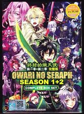SERAPH OF THE END: VAMPIRE REIGN SEASONS 1&2*24 EPS*ENG SUBS*ANIME DVD*US SELLER