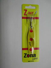 Z-Ray 5/8 oz Yellow with Red Spots Fishing Lure