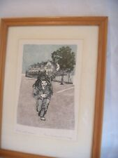 GARY SARGEANT DANCING FIGURE ARTISTS PROOF ENGRAVING SIGNED & DATED 1982