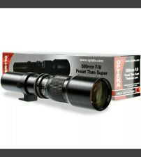 Opteka 1000mm Telephoto Lens for Nikon D3200 D3300 D3400 D3500 D5600 D7500 D500