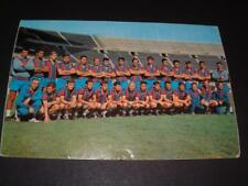 FC BARCELONA FC 1968-69 RARE ORIGINAL POSTCARD GENUINE HAND SIGNED