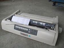 OKI Microline 5521 A3 A4 Dot-Matrix Impact Printer USB LPT P NO COVERS D22910B