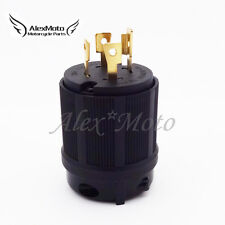 4 Prong Gasoline Generator Locking Plug 30A 125/250V L14-30P UL Approval Safety