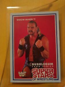 1989 WWF MSL The Widow Maker Rookie card Wrestling Super Stars NZ WWE WCW