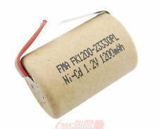 15x Ni-Cd 4/5Sub C SC 1.2V 1200mAh Rechargeable Battery for Power tools toys U/R