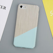 Glossy White Granite Marble Hard PC Phone Case Cover For iPhone 5 5S 6 6S 7 Plus