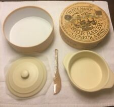 NEW IVORY Petite Maison Wildly Delicious Brie Baker Cuiseur A Brie CHEESE bake