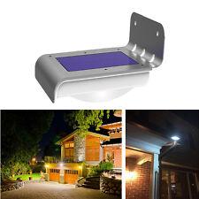 Solar Power Motion Sensor Lamp 16LEDs Outdoor Wall Lights Wireless Waterproof