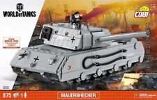 COBI Mauerbrecher / 3032 / 875  blocks WWII Small Army German tank panzer