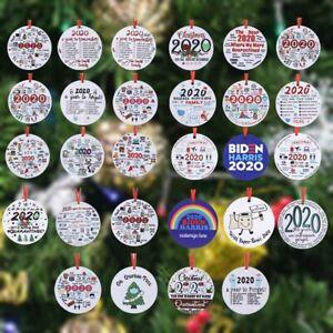 2020 Pandemic Annual Event Xmas Tree Decor Christmas Ornament Lockdown Xmas Gift