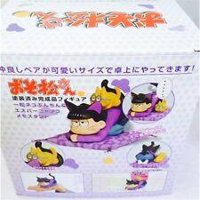 Mr. Osomatsu-san Matsuno Ichimatsu Esper Nyanko Memo Stand &Bunchin Figure w BOX