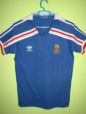 FRANCE 1986 HOME SHIRT WORLD CUP ADIDAS JERSEY SIZE S/M