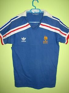 FRANCE 1986 HOME SHIRT WORLD CUP REISSUE ADIDAS 1998 JERSEY SIZE S/M