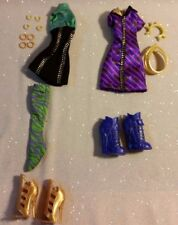 Monster High Clawdeen Wolf Coffin Bean Wave 3 Fashion Outfits Shoes Boots HTF