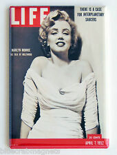 Marilyn Monroe FRIDGE MAGNET (2 x 3 inches) life magazine