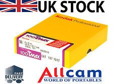 Kodak T-Max 100 Large Format 4x5 B&W Negative Film (50)