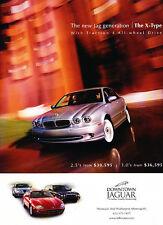 2002 Jaguar X-Type - new jag - Classic Vintage Advertisement Ad A17-B
