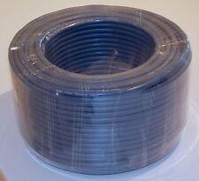 100m Rolle Lautsprecher Kabel Boxen Kabel  4-adrig 4x 2,5qmm blaugrau