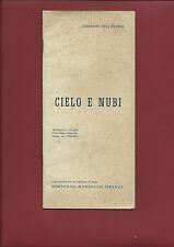 Libro 1920 Cielo e Nubi Traduzione a cura della Commissione Nazionale Unesco