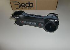"DEDA Zero 1 black on black Vorbau 1 1/8"" 100 mm -6° +6° schwarz matt 31,7 OS"