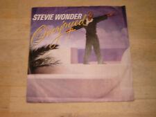 45 tours stevie wonder overjoyed