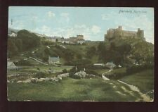 Wales Merioneth HARLECH Castle Northside 1906 PPC