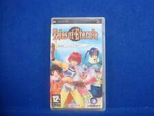 psp TALES Of ETERNIA Game 2.50 NON GLITCH VERSION Pal English Uk REGION FREE