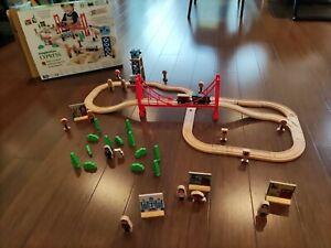 Wooden train sets (Imaginarium Express)