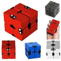 Plastic Infinity Cube Anti Stress Toy Hobby Anxiety Relief