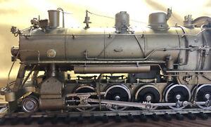 HO Sunset Models brass locomotive Southern Pacific 2-10-0 Decapod D1