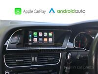 Wireless Apple CarPlay Wired Android Auto for Audi Q5 2008-15 Concert