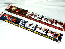 Marvel Augmented Reality Large Iron and Spider Man Peel Stick Wall Decals