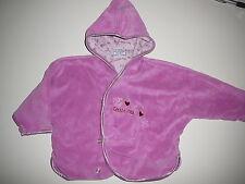 Berti tolle Nikki Jacke Gr. 68 rosa mit kleiner Katzenstickerei !!