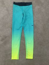 Nike Pro Green Hombre Hyper Warm Heat Gear Small Womens Base Layer Cold Gear