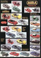 MIRA Modellautos Prospekt 1997 Broschüre brochure model cars Miniatur Modellauto