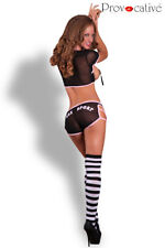 Déguisement sportive, shorty sexy costume femme stretch, S-M top football