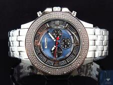 Mens Jojino/Joe Rodeo/Jojo XL Stainless Steel 54mm Real 25 Diamond Watch MJ-1205