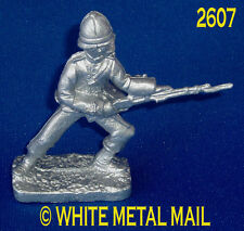 Military Lead Casting LA2607 24th Foot Enlisted Man - Lunging with Rifle