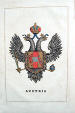 METÀ '800 – GEOGRAFIA COROGRAFIA STORIA POLITICA AUSTRIA RUSSIA GERMANIA EUROPA
