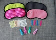 Girls Pamper party sleepover slumber set kit fillers spa beauty nail art gift