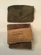 US Army First Aid Pouch With Dressing