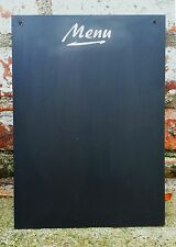 A3 Lavagna Menu Shabby Chic in Bianco Grande Lavagna 42cm x 30cm GRATIS UK P & P