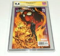 Ultimate Spider-Man #73 CGC 9.4 NM SS Signed by Brian Michael Bendis