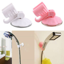 2pcs Adjustable Attachable Bathroom Shower Head Holder Wall Suction Cup Bracket