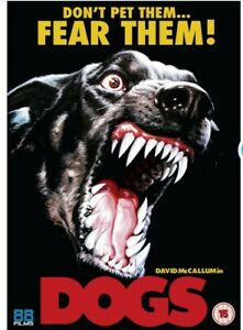 DOGS  Uncut DVD  HORROR 88 Films Release NEW & SEALED FREE UK P&P